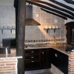 Cocina, vista parcial
