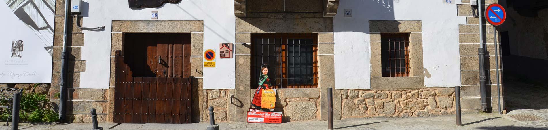 Exterior Casa Rural Chacinera, Candelario